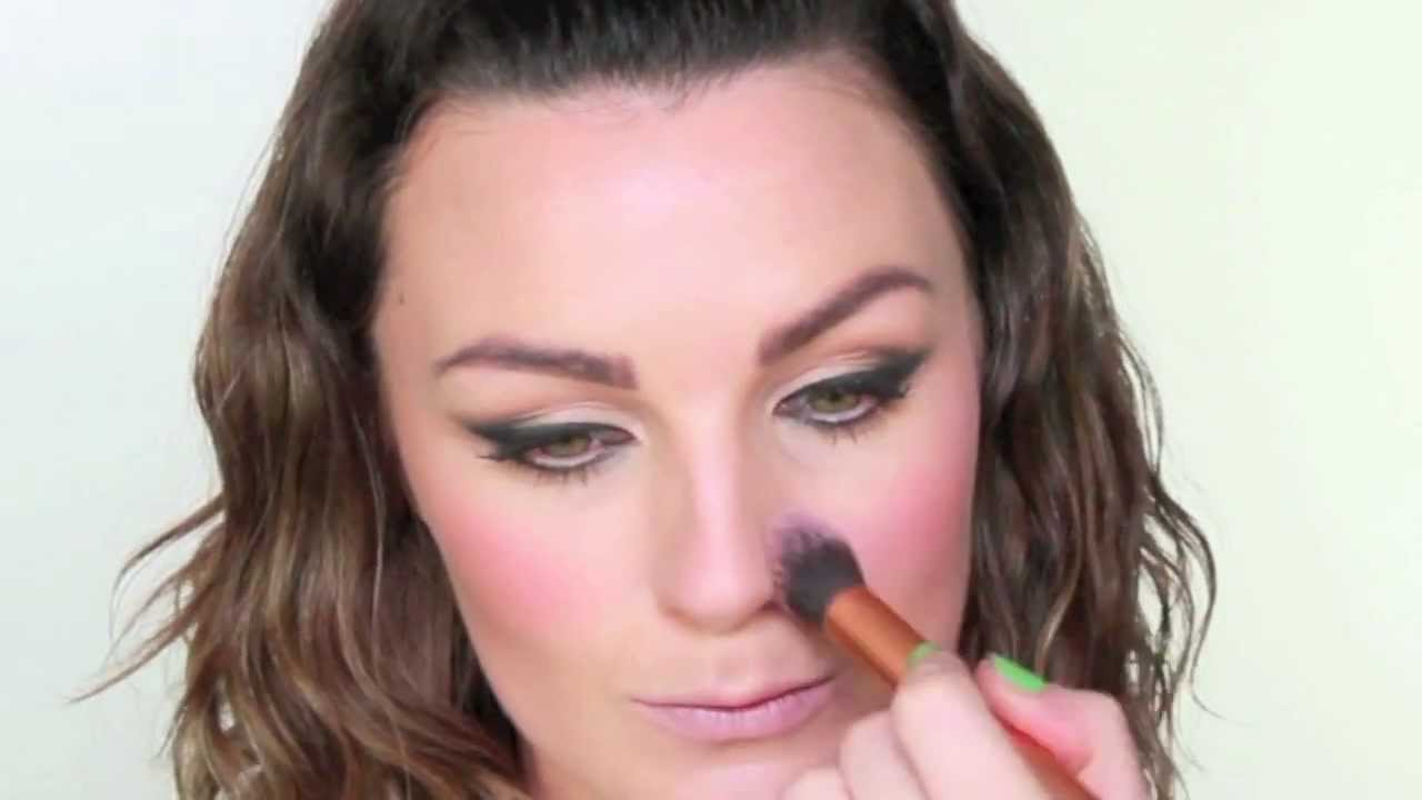 1980s inspired makeup tutorial (with a modern twist)