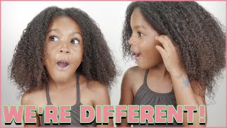 TWINS LEARN THEY ARE DIFFERENT!