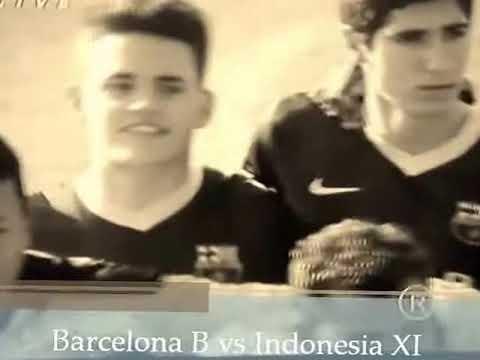 AVE Sport: Barcelona B vs Indonsia XI ( 4 - 0 )
