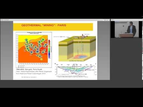Geological aspects of renewable energy
