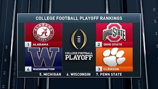 Inside College Football: Rankings reactions