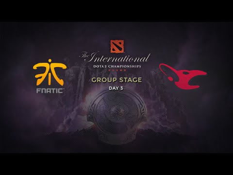 Mouz -vs- Fnatic, The International 4, Group Stage, Day 3