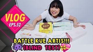 WTF#52 BATTLE KUE OLEH-OLEH ARTIS! (TASTE TEST) PART 1