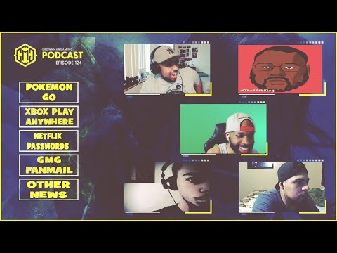 GMG SHOW LIVE 124 - POKEMON GO AND NINTENDO, SHADOW OF MORDOR FTC, XBOX PLAY ANYWHERE UPDATE