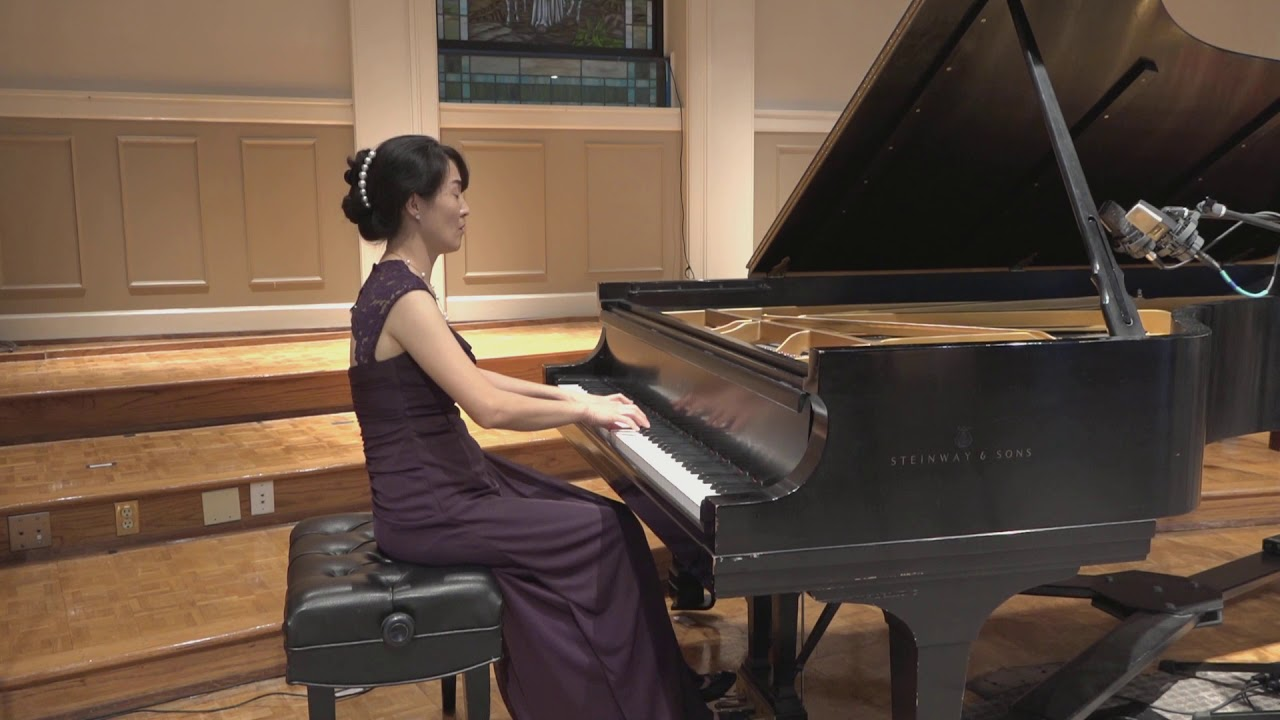 Sonata No. 30 in E Major, Op. 109, Mvnt. III by Beethoven, performed by Dr. Rachel KyeJung Park