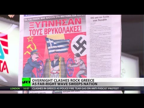 Anti-Fascist Fury: Protest against Golden Dawn turns violent in Greece