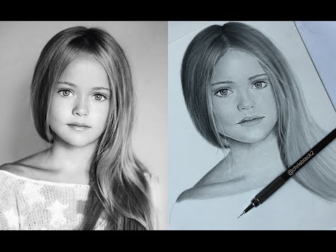 how to draw realistic people for kids
