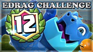 Electro Dragon Challenge 12 WIN TIPS | Clash Royale 🍊