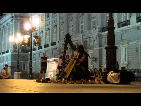 Victor santal harp set part i palacio real madrid