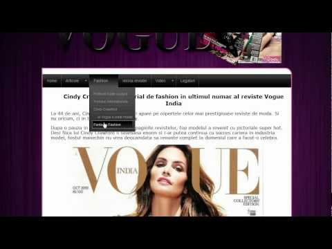 Atestat informatica despre Revista Vogue