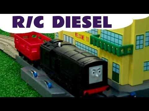 Thomas & Friends R/C DIESEL Remote Control Thomas Tank Kids Toy Train set Thomas And Friends