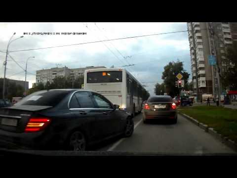 DRIFT W MIEŚCIE   Mercedes C63 AMG