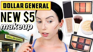 OMG! DOLLAR GENERAL'S NEW MAKEUP LINE | Believe Beauty First Impressions
