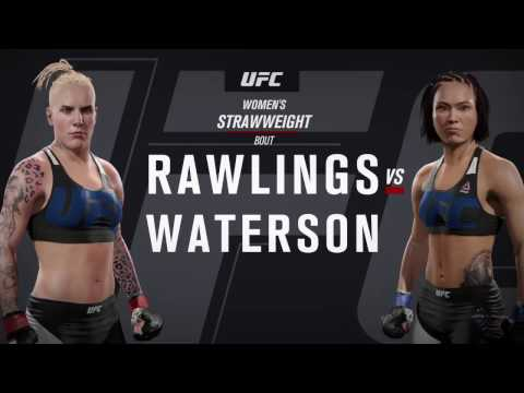 Rebecca Rawlins has her body put through hell by Michelle Waterson (Ryona)