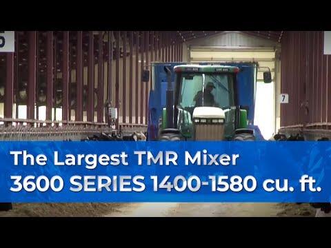 Farm Demo -- The Largest Patz Vertical TMR Feed Mixer, 1400-1580 Cu/Ft