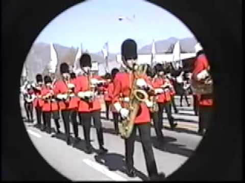 Vista High Regimental Band and Pageantry 1994 Parade - Eagle Squadron