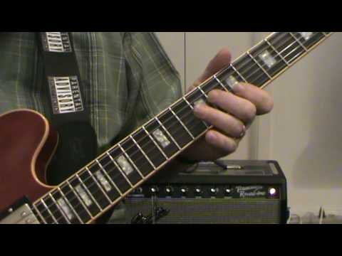 Albert King Lesson by Rev. Muddy (Dennis Dullea)