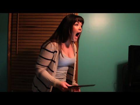 Psycho Girlfriend Breaks Ipad video