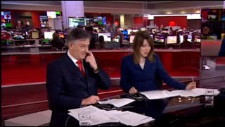 Simon McCoy caught picking his nose on BBC News (plus other gaffes)