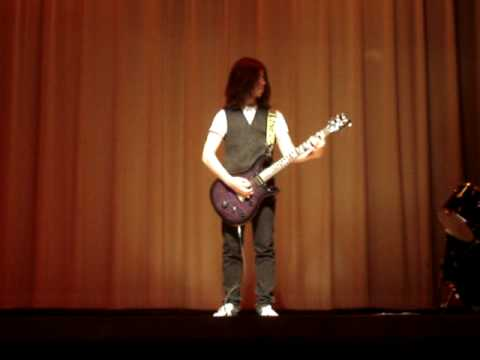 Insane High School Talent Show Guitar Solo