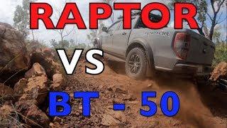 RANGER RAPTOR vs BT50