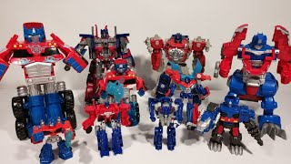 Optimus Prime Transformers Collections