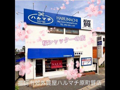 ハルマチへの道22 新緑の頃 福岡の質屋ハルマチ原町質店