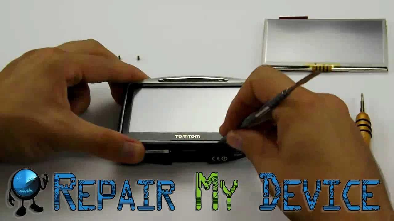 Tomtom Service - Repair Screen - Repair-my-device