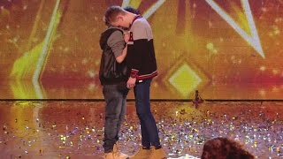 Two Best Friends Shock Everyone! Standing Ovation - Bars & Melody - Britain