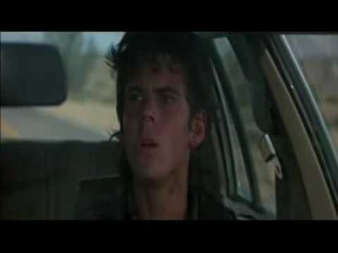THE HITCHER (1986) car chase scene