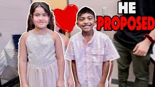 Young Boy Makes Reema Blush.. (HE PROPOSED)