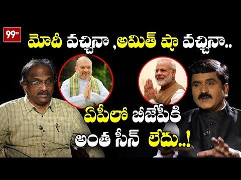 Prof K Nageshwar Satirical Comments on BJP Politics in AP | Modi, Amit Shah | 99 TV Telugu