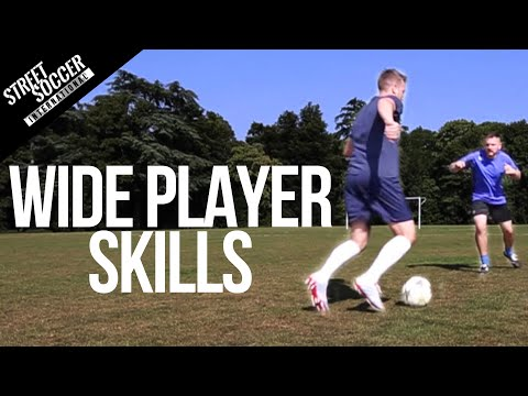 Learn Football skills for Wide Players - Play like Messi, Ronaldo, Neymar Soccer Turorial