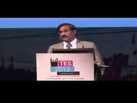Principal Secretary, Industries (AP), K Pradeep Chandra at TiE Summit