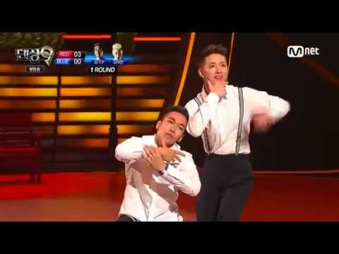 140808 Trix (Kim Taehyun) & Bboy Rocket (Kim Kisu) - 'Fine China' choreographed by Jay Park