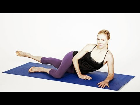 Lazy Girl's Inner-Thigh Pilates Workout