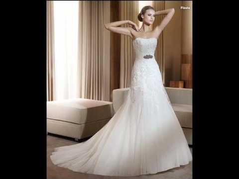 les plus belle robes de mariage 2014 pour vous les filles youtube. Black Bedroom Furniture Sets. Home Design Ideas