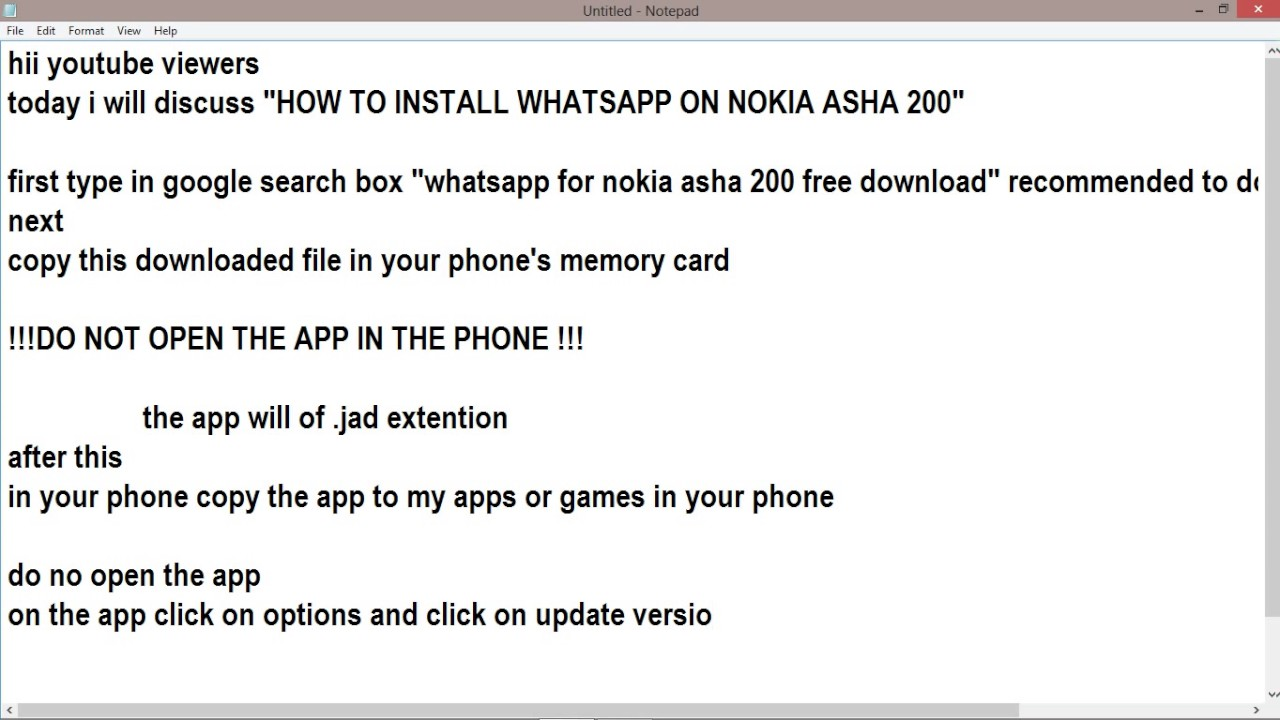 how can i download whatsapp on my asha 200 download maths blog