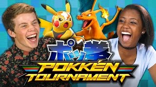 POKKEN TOURNAMENT (Teens React: Gaming)