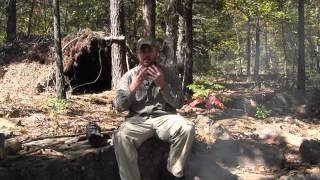Bushcraft Camp Hygiene Series Part 1- Smoke Baths and Deodorant