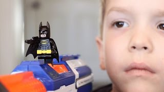 Nerf War:  LEGO Batman Begins