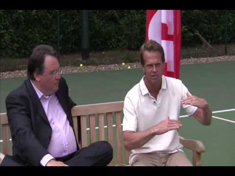Wilson Legend Stefan Edberg Interview at Esporta Chiswick Riverside