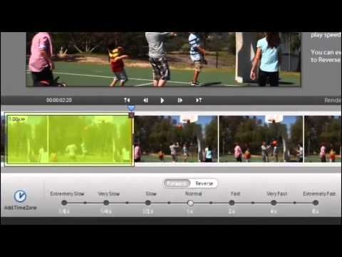 Time Remapping with Adobe Premiere Elements 11