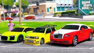 GTA 5 CAR THIEVES - КРАДЕМ ТАЧКИ В БОГАТОМ РАЙОНЕ ГОРОДА! У МЕНЯ ПОЛУЧИЛОСЬ УГНАТЬ ОКУ! 🌊ВОТЕР