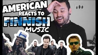 American REACTS // Finnish Music