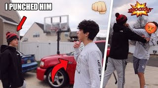 I Punched My GIRLFRIENDS EX BOYFRIEND! (not clickbait)