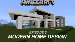 Minecraft Houses on Minecraft  Modern Island Home Design Ep5