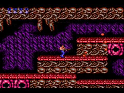 Contra NES Speed Run Part 2 FINALE (12min)