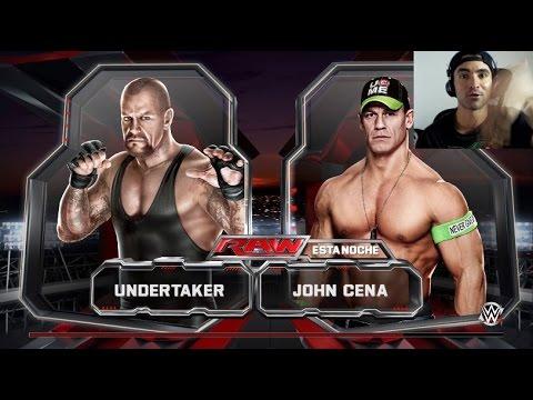 Wwe 2k15 - Undertaker Vs John Cena - Ps4 Gameplay video