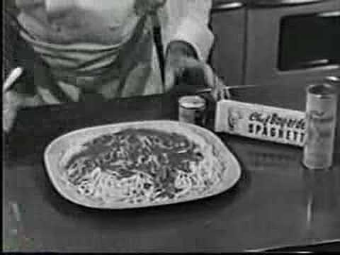 Chef Boy-Ar-Dee commercial - 1953